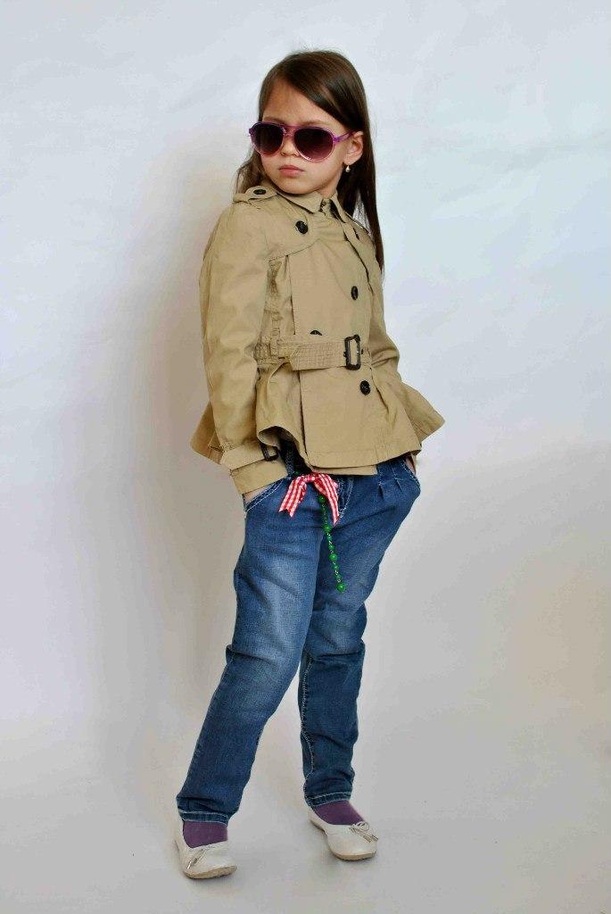 Фото 5: Модный плащ ikks для девочек