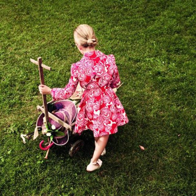 Детское платье диор