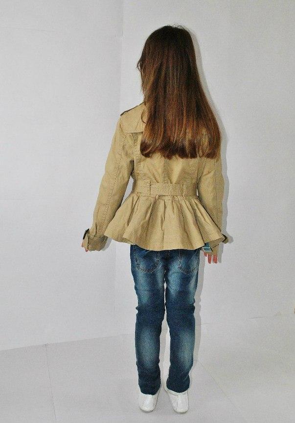 Фото 7: Модный плащ ikks для девочек