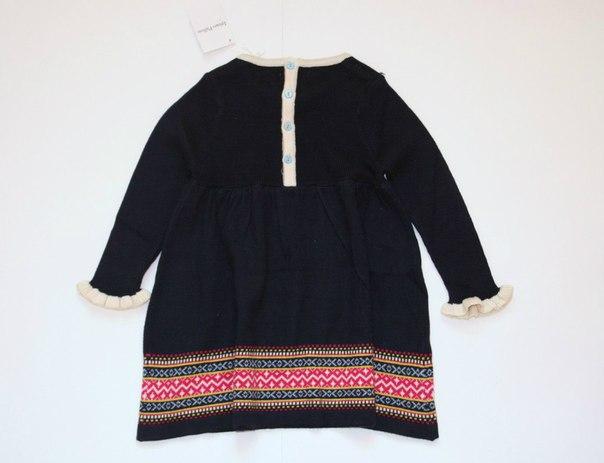 Фото 2: Синие платье для девочек I Pinco Pallino