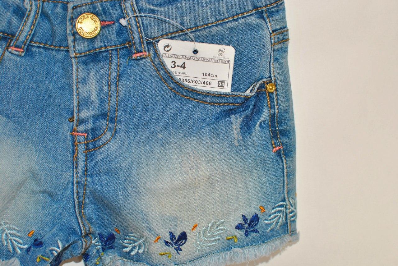 Фото 3: Модные шорты Zara для девочек