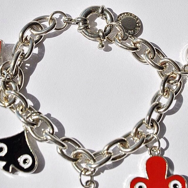 Marc by Marc Jacobs House of Cards Bracelet Necklace.