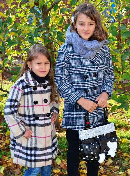Фото 4: Классическое пальто Ativo для девочек