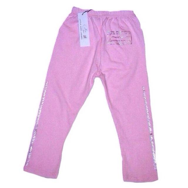 Фото 1: Розовые леггинсы для девочек LMJ
