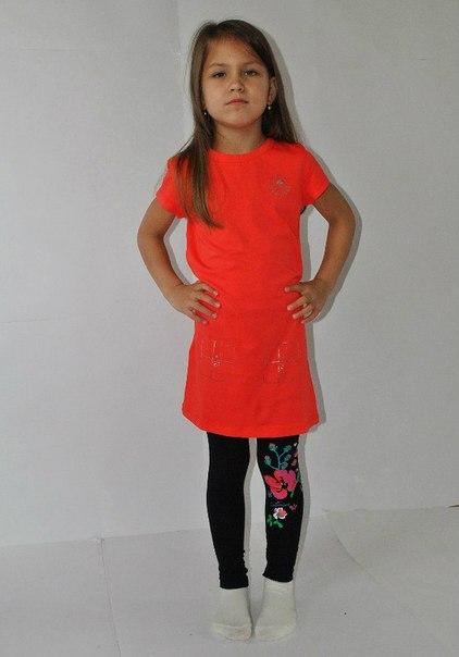Фото 4: Красное детское платье Little Mark Jacobs