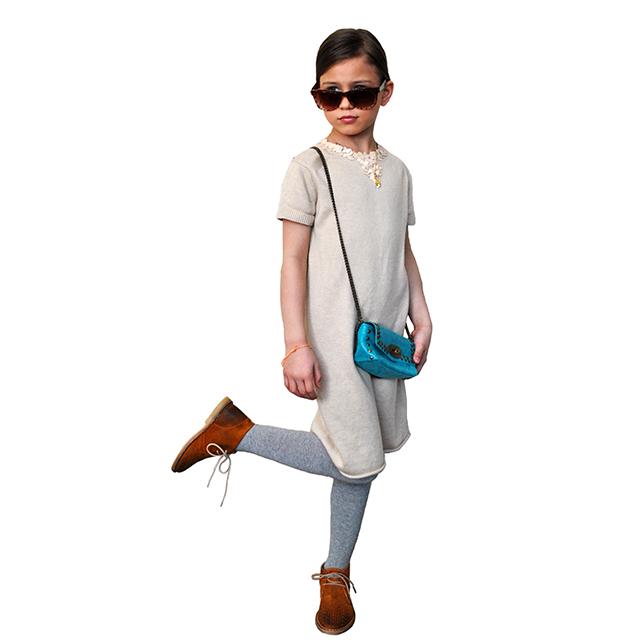 очень нежное и нарядное платье Chloe украшенное паетками. Фотография 3