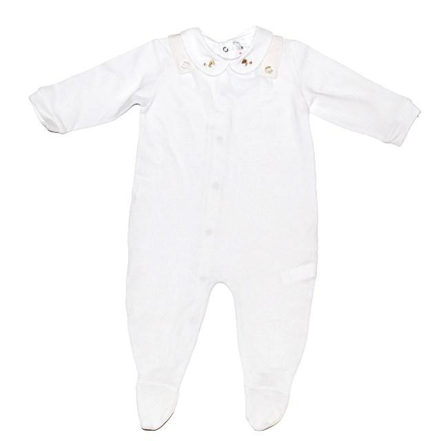 Фото 1: Белоснежный комбинезон Limon mignon для новорожденных