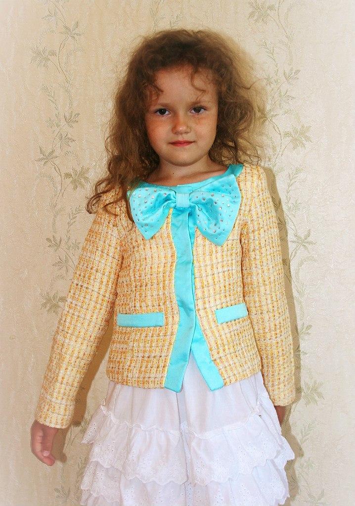 Фото 3: Жеолто-березовый пиджак Miss Grant