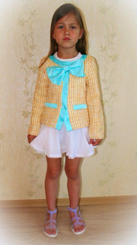 Фото 1: Жеолто-березовый пиджак Miss Grant
