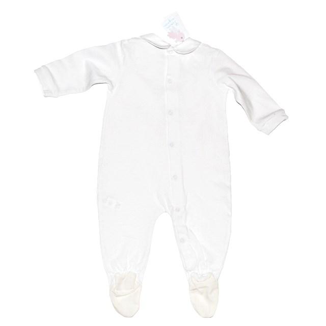 Фото 2: Белоснежный комбинезон Limon mignon для новорожденных