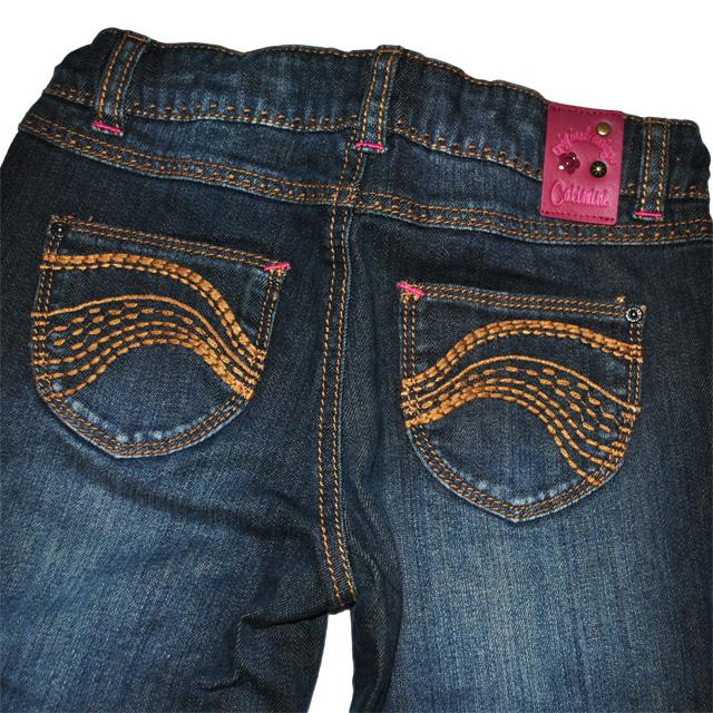 Фото 3: Классические джинсы Джинсы Catimini