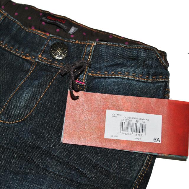 Фото 4: Классические джинсы Джинсы Catimini
