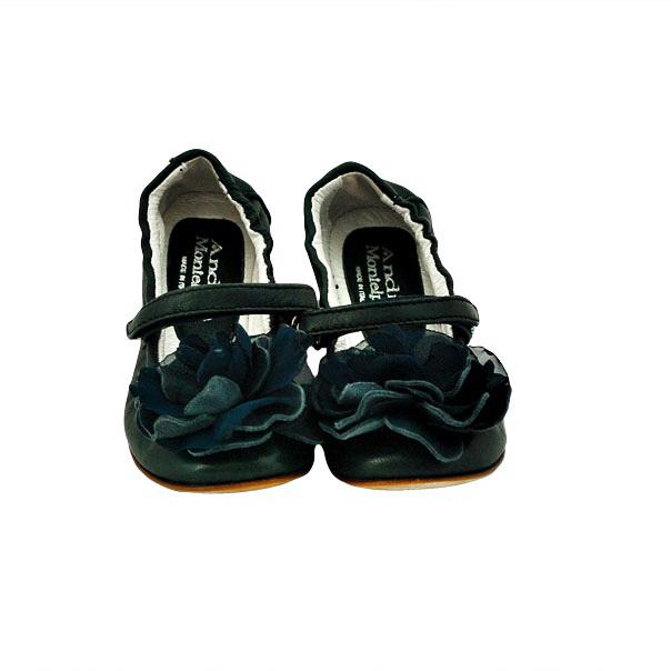 Фото 4: Черные туфли Andrea Montelpare с бантиком