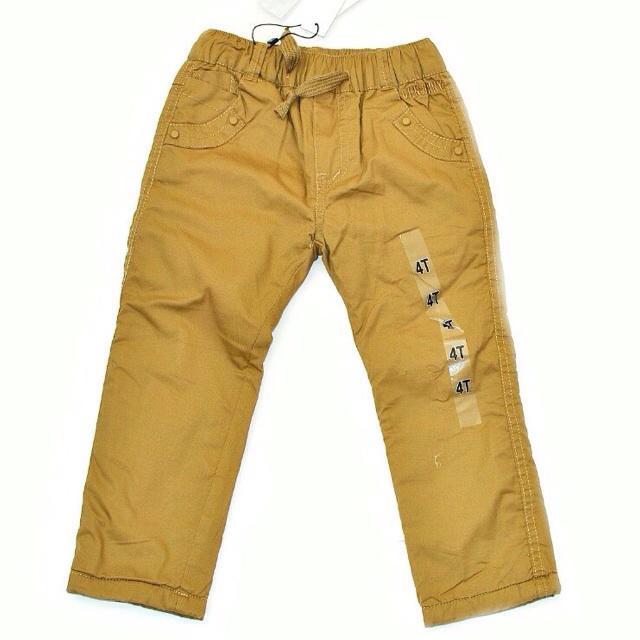 Фото 1: Утепленные детские брюки для девочек