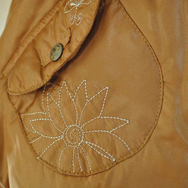 Фото 2: Куртка ORCHESTRA для девочек коричневого цвета