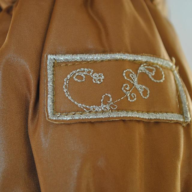 Фото 3: Куртка ORCHESTRA для девочек коричневого цвета
