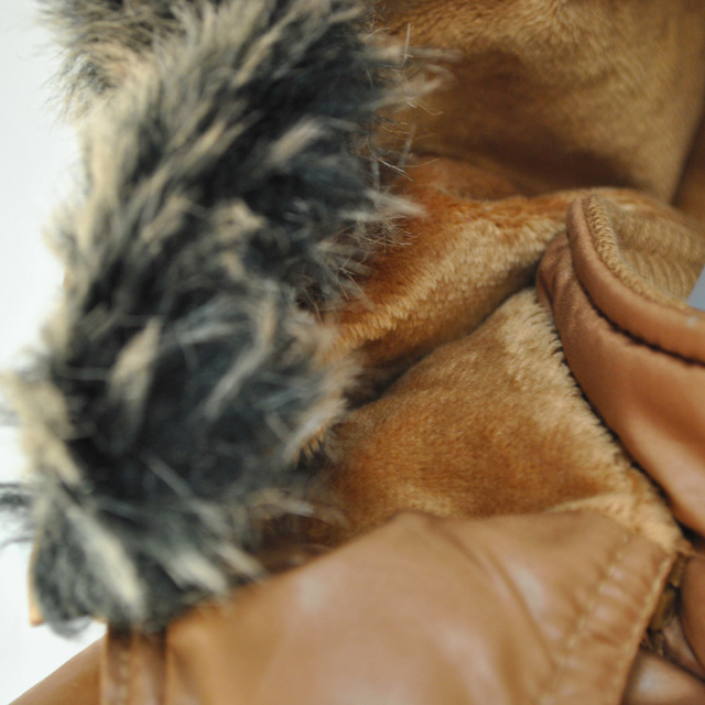 Фото 4: Куртка ORCHESTRA для девочек коричневого цвета