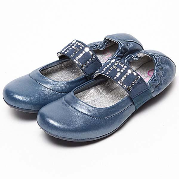 Фото 1: Синие туфли для девочек Ciao bimbi