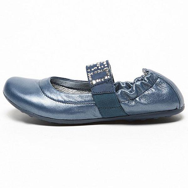 Фото 2: Синие туфли для девочек Ciao bimbi