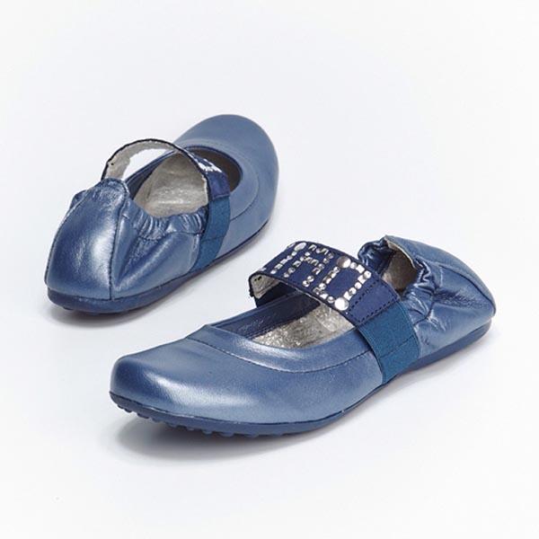 Фото 7: Синие туфли для девочек Ciao bimbi