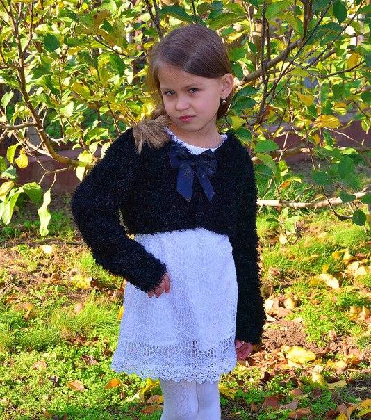Фото 2: Модное детское болеро TO BE TOO