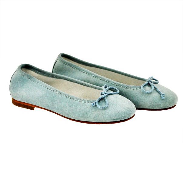 Фото 2: Туфли для девочек il gufo синего цвета