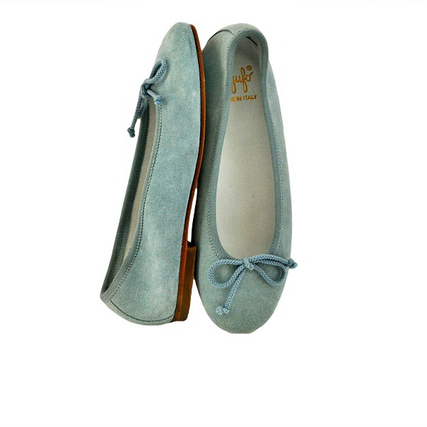 Фото 3: Туфли для девочек il gufo синего цвета