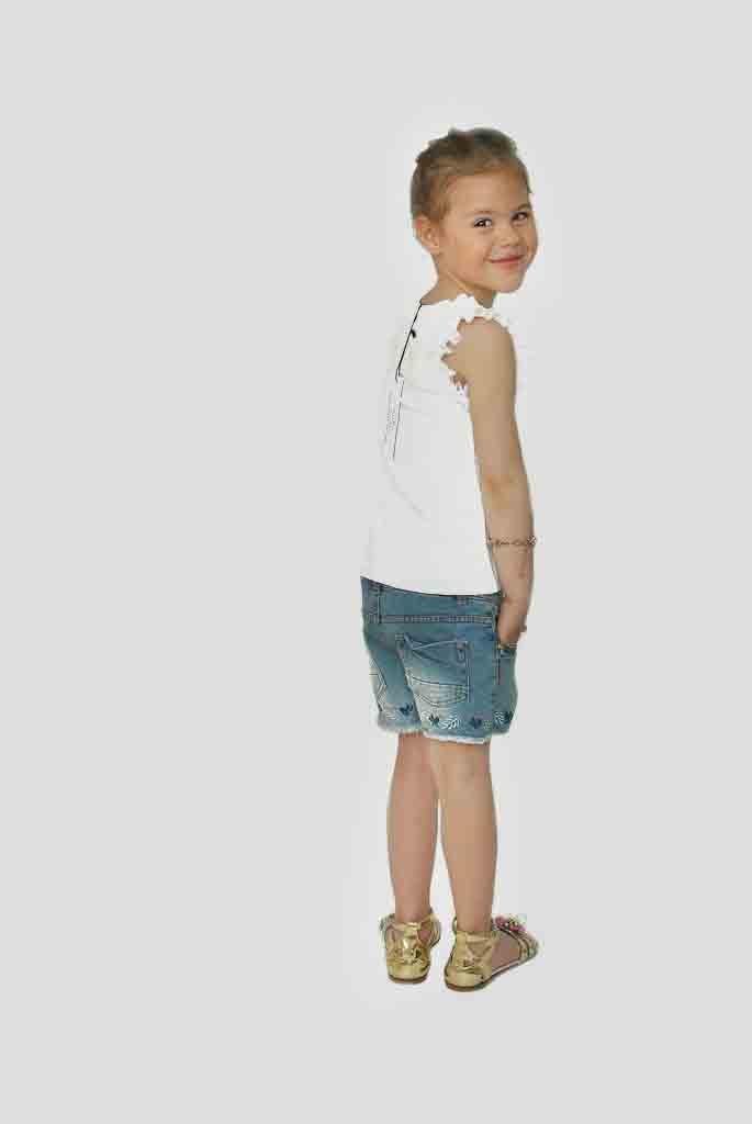 Фото 4: Модные шорты Zara для девочек