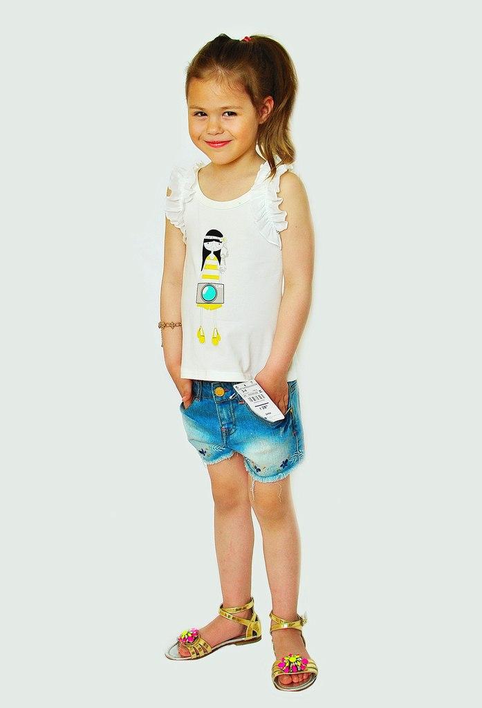 Фото 5: Модные шорты Zara для девочек