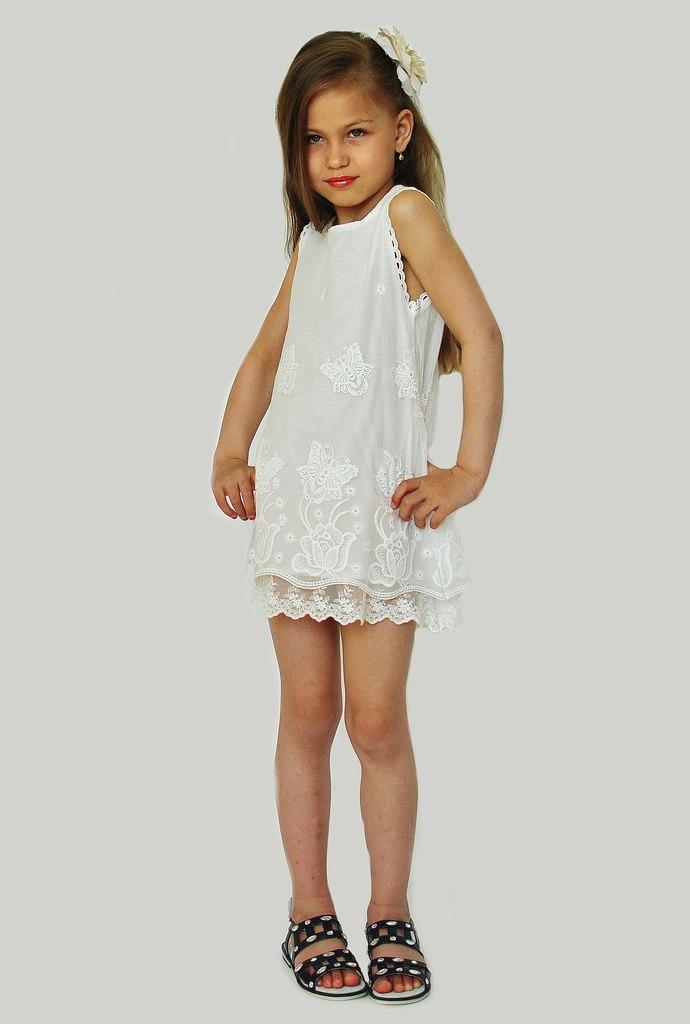 Фото 5: Нарядное платье DKNY кружевное