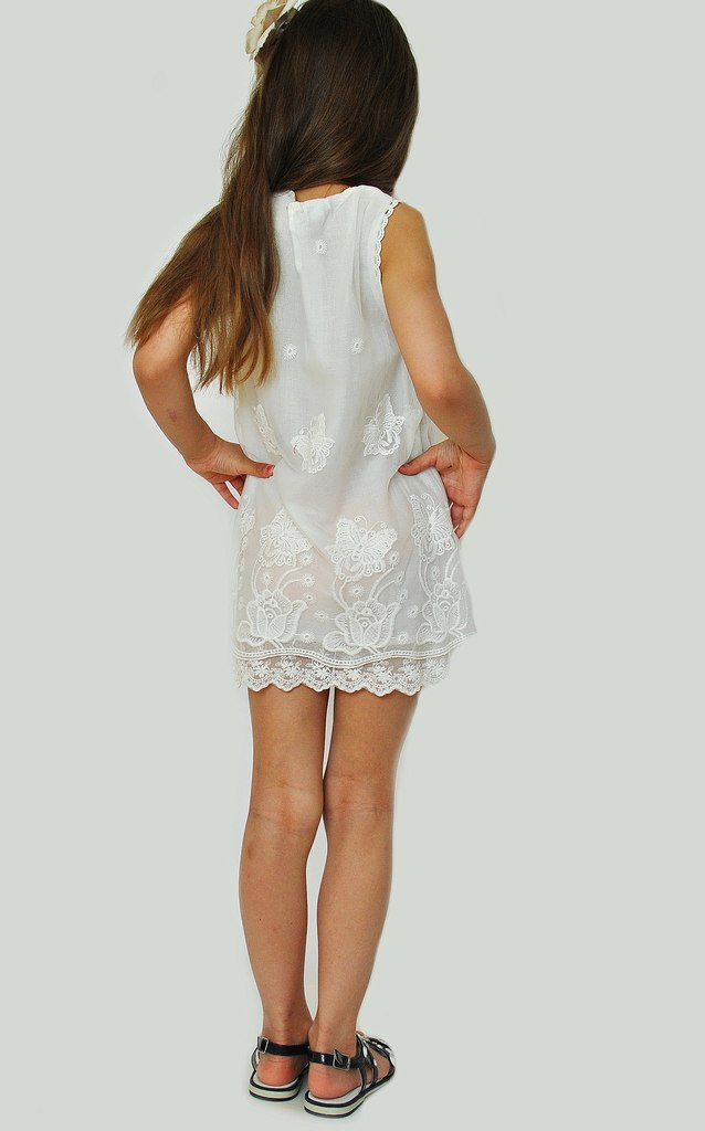 Фото 6: Нарядное платье DKNY кружевное