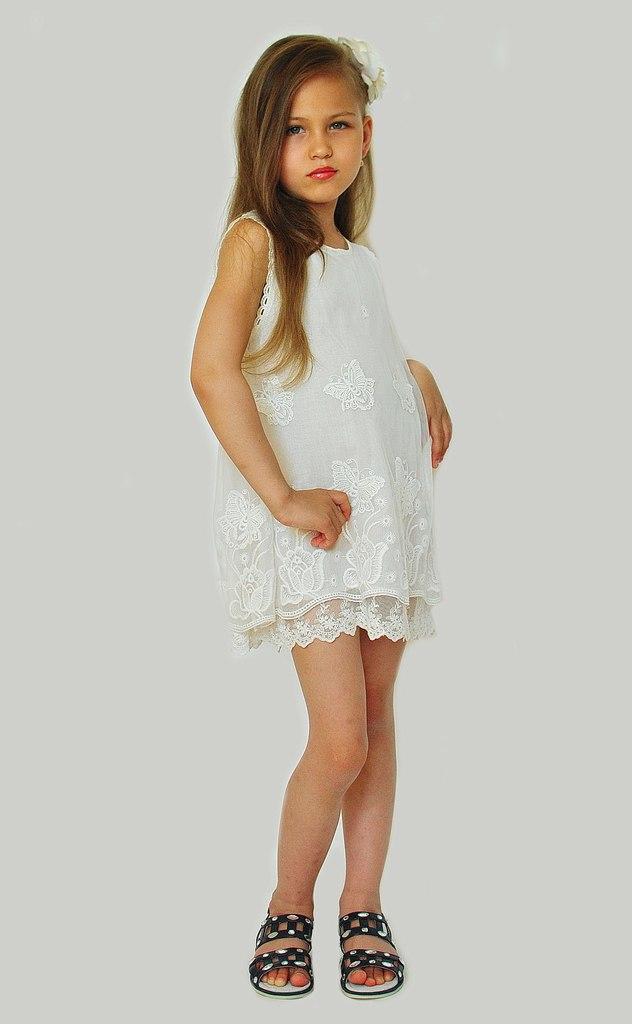 Фото 7: Нарядное платье DKNY кружевное