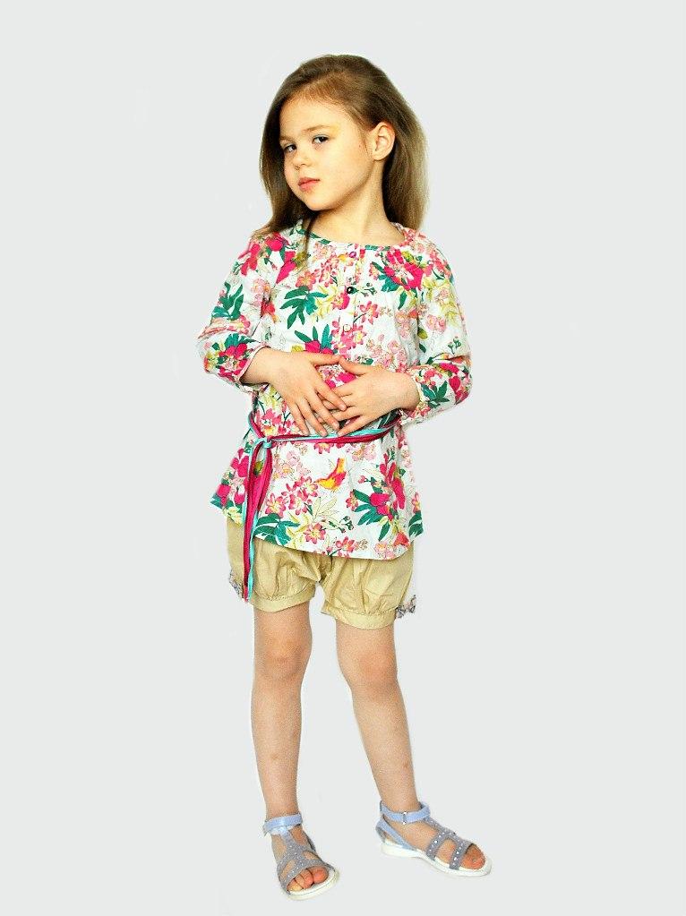 Фото 2: Туника Kenzo для детей - ярких цветов