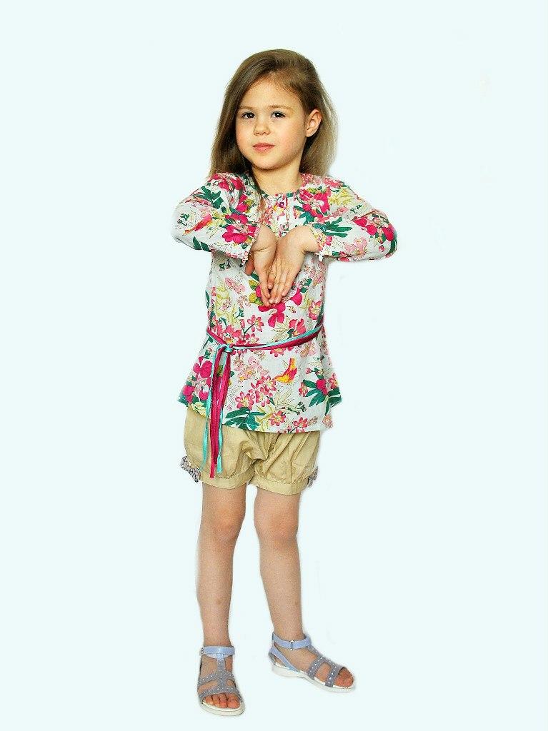 Фото 3: Туника Kenzo для детей - ярких цветов