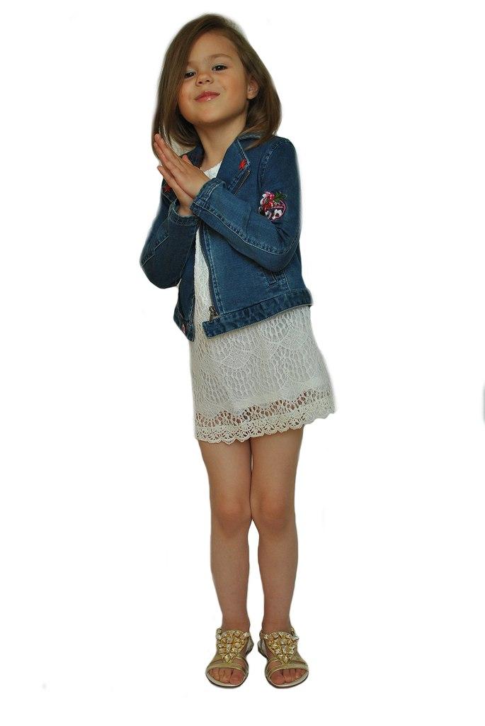 Фото 4: Нарядное детское платье DKNY
