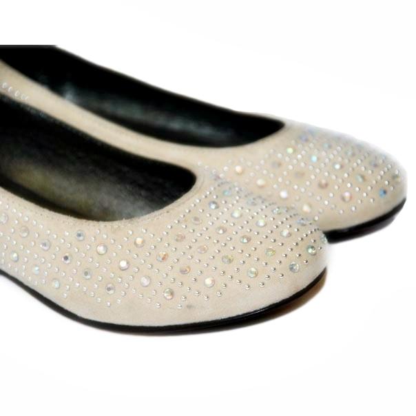Фото 3: Туфли для девочек Simonetta украшены стразами
