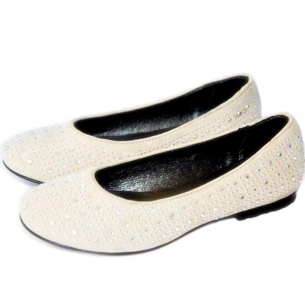 Фото 4: Туфли для девочек Simonetta украшены стразами
