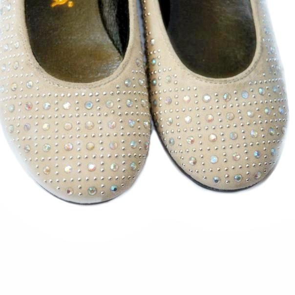 Фото 5: Туфли для девочек Simonetta украшены стразами