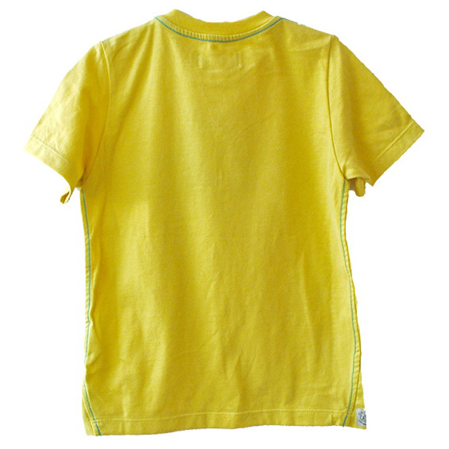 Фото 2: Желтая футболка с рисунком