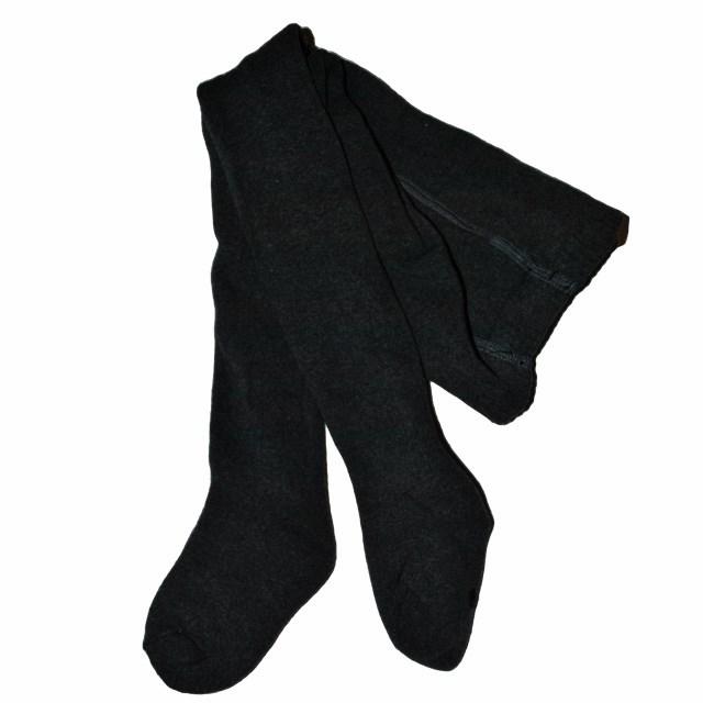 Фото 1: Колготки утепленные махровые черные
