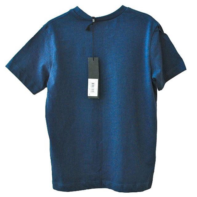 Фото 2: Синяя футболка с рисунком