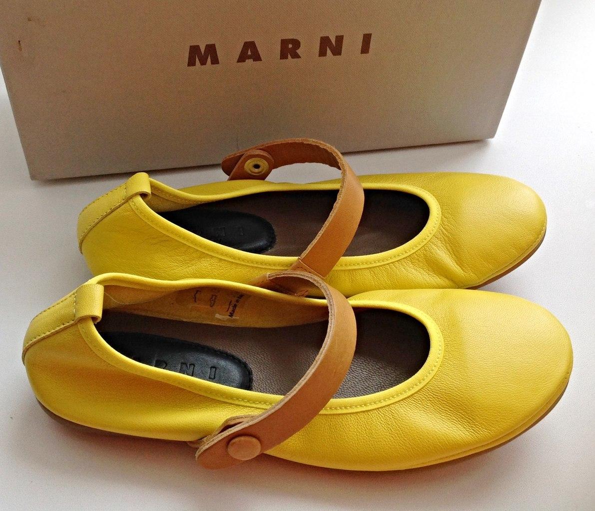 Качественные туфли Marni для девочек Фото 7: