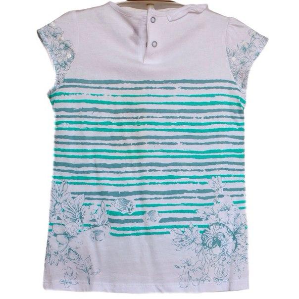 Фото 2: Яркая футболка Kenzo для девочек