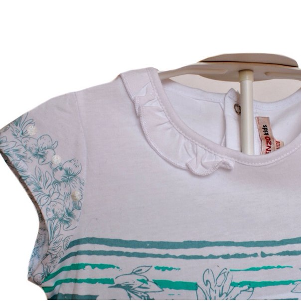Фото 3: Яркая футболка Kenzo для девочек
