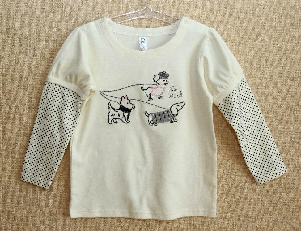 Фото 1: Детская футболка с длинным рукавом