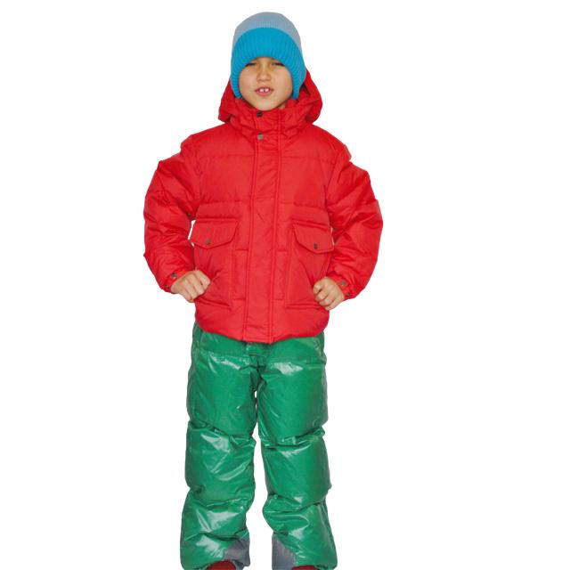 Фото 5: Красный пуховик Аdd для мальчиков