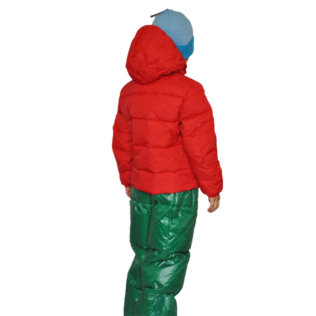 Фото 6: Красный пуховик Аdd для мальчиков