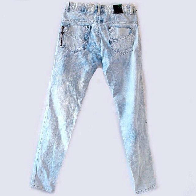 Фото 2: Классические джинсы Benetton для девочек