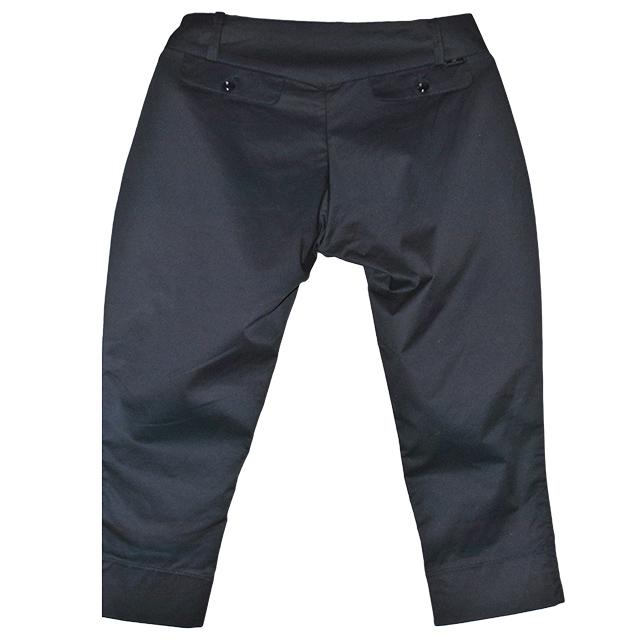 Удобные и практические брюки укороченные силуэта.Состав: 95%cotone, 5% elastam. Фото: 2