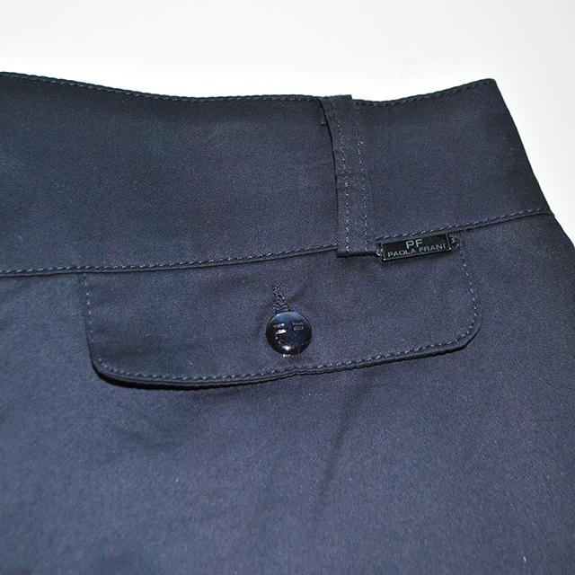 Удобные и практические брюки укороченные силуэта.Состав: 95%cotone, 5% elastam. Фото: 3